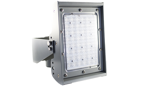 single waterline flood light