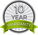 Energy Focus 10 Year Warranty Logo
