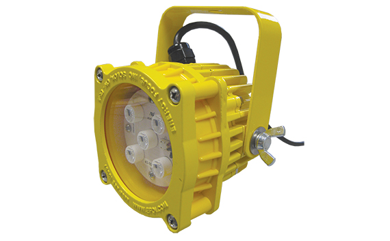 safety yellow docklight