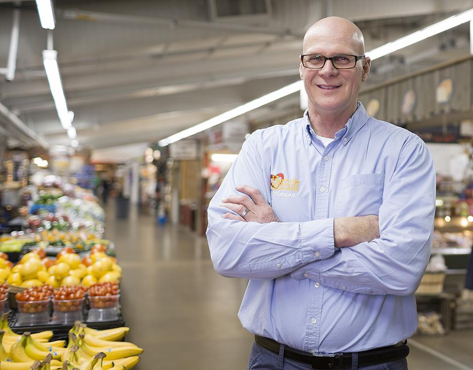environmental portrait of hartville marketplace owner