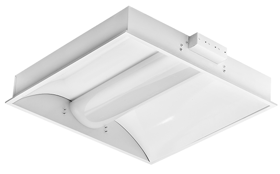 product photo of LED troffer fixture