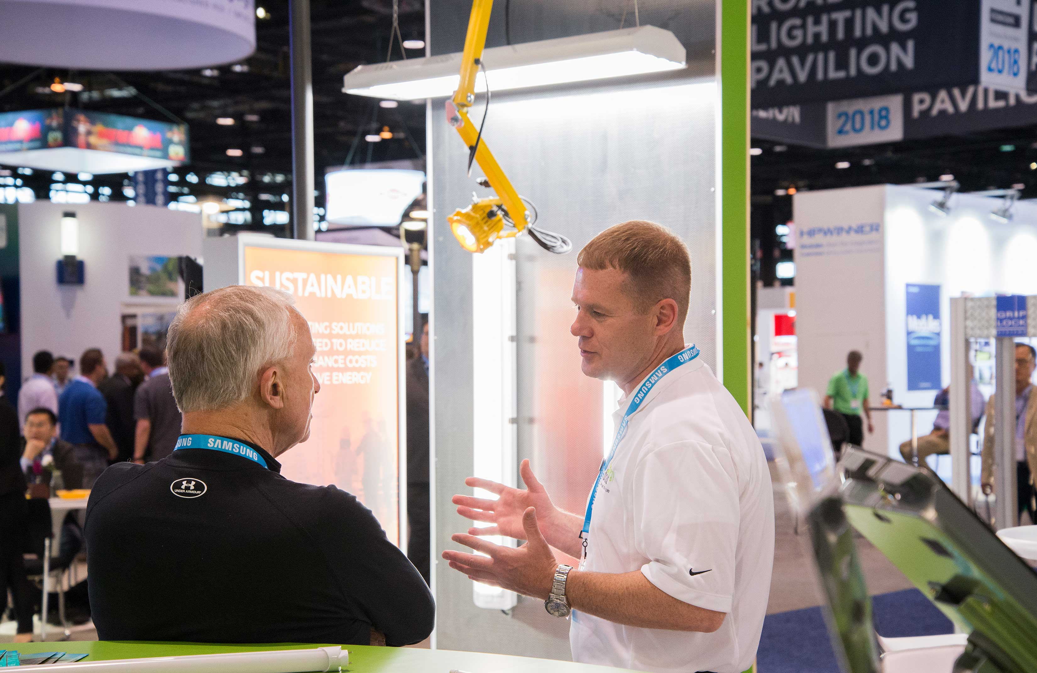 Energy Focus LIGHTFAIR International 2018 Booth