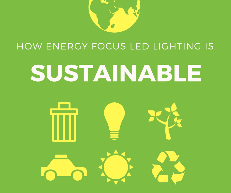 What Makes Led Lighting Sustainable And Green Energy Focus