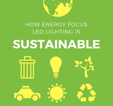How Energy Focus LED Lighting is Sustainable