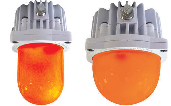 Energy Focus Military Amber LED Globes