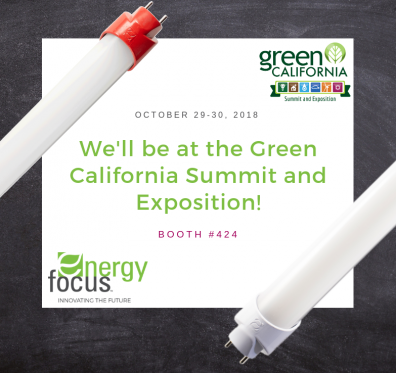 Energy Focus Green California Summit and Exposition 2018 Blog photo
