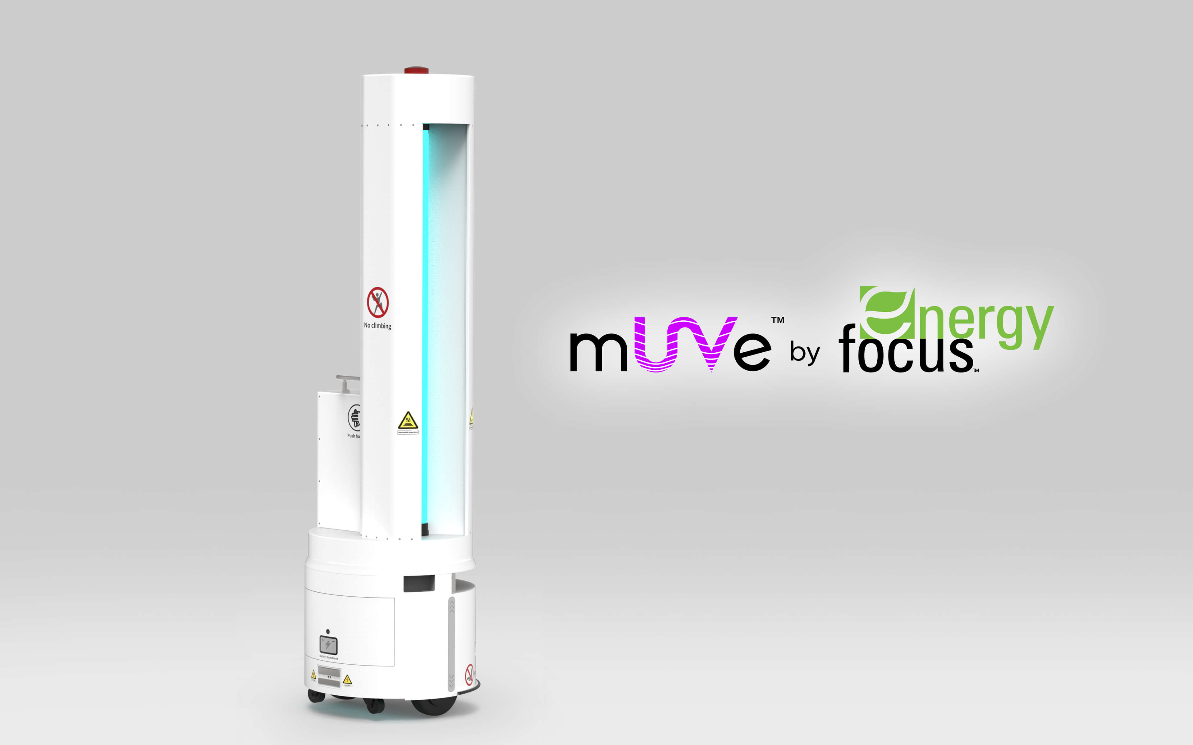 mUVe™ – UV-C Surface Disinfection Robot