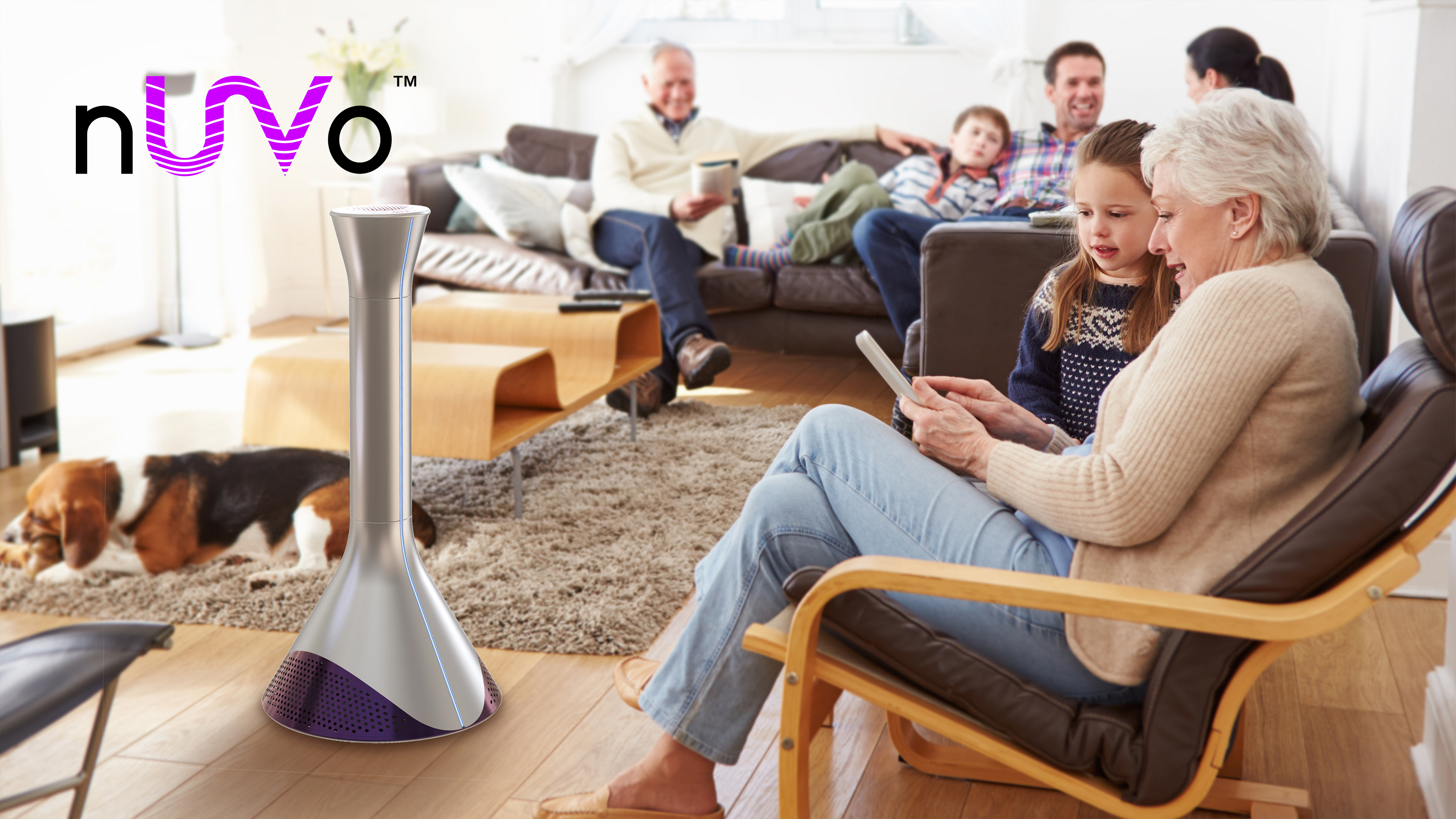 nUVo™ – UV-C Air Disinfection Tower – Coming Soon